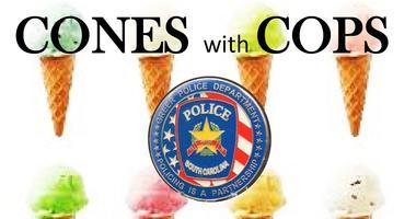 Cones with Cops Greer