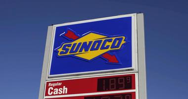 Sunoco Gas Station sign
