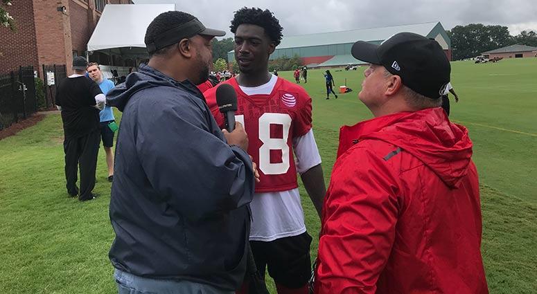 Atlanta Falcons receiver Calvin Ridley