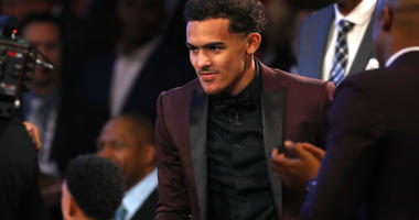 Atlanta Hawks point guard Trae Young