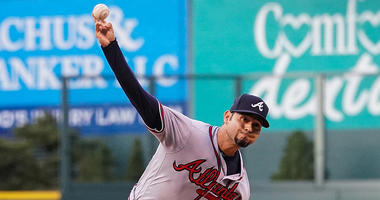 Atlanta Braves starting pitcher Anibal Sanchez