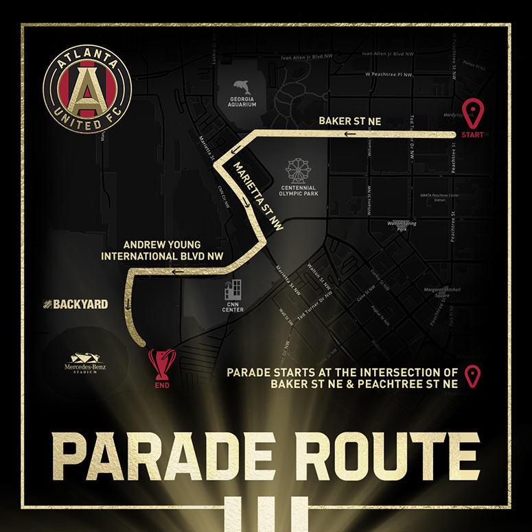 Atlanta United parade