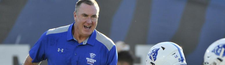 Georgia State Head Coach Shawn Elliott