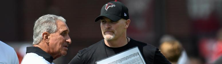 Should Blank be getting restless with Falcons?