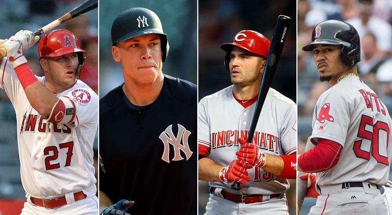 Trout, Judge, Votto, Betts