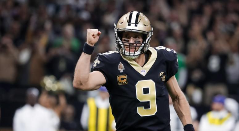 New Orleans Saints QB Drew Brees
