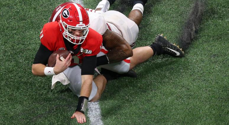 Jake Fromm - CFP Title Game