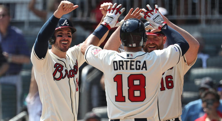 Braves bench stepping up in time of need