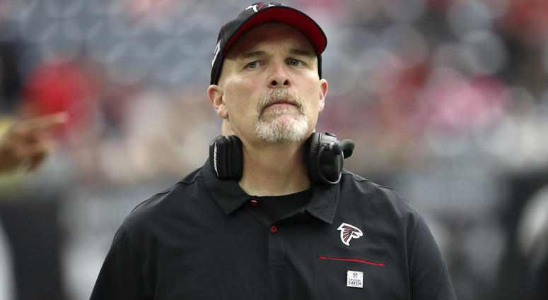 Falcons Head Coach Dan Quinn