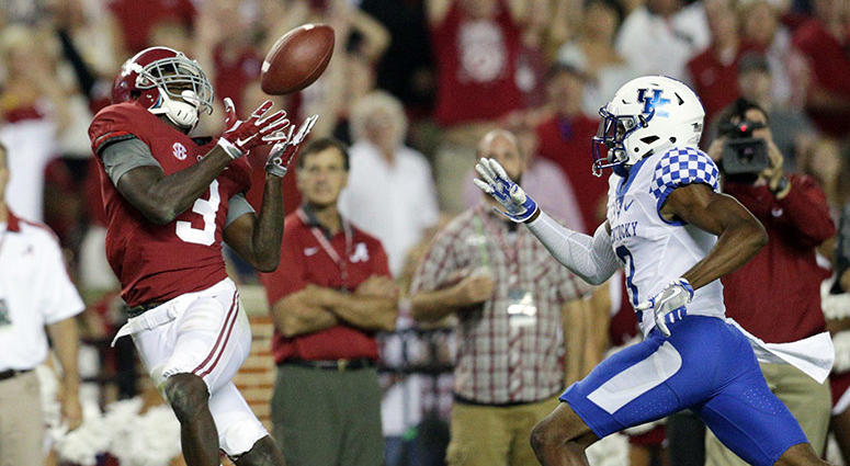 receiver Calvin Ridley