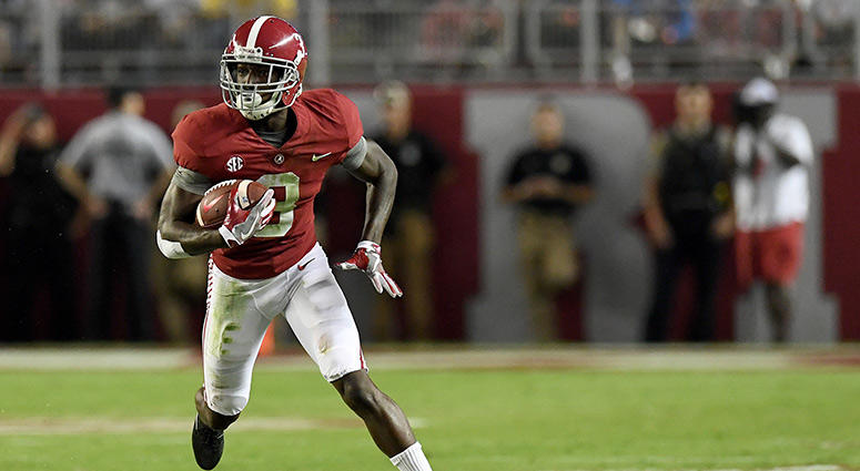 wide receiver Calvin Ridley