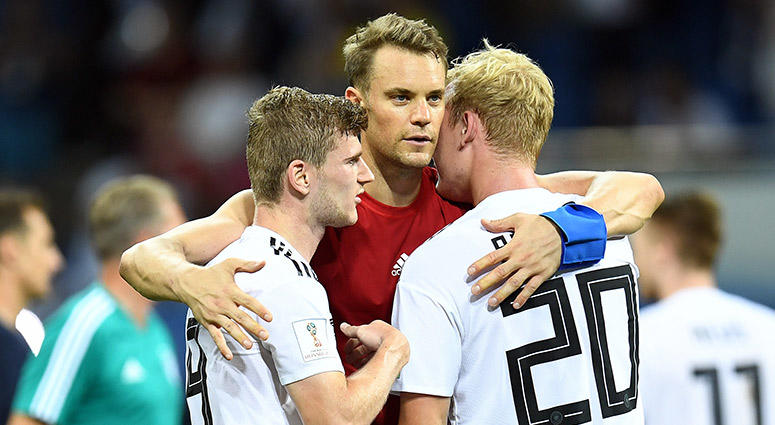 Germany goalkeeper Manuel Neuer