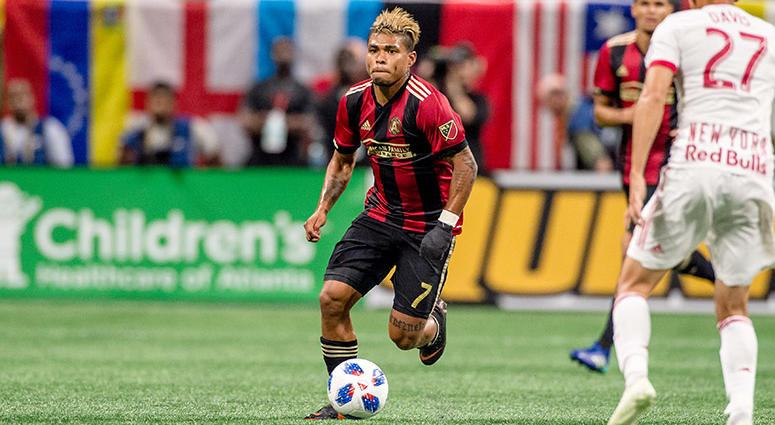 Atlanta United striker Josef Martinez