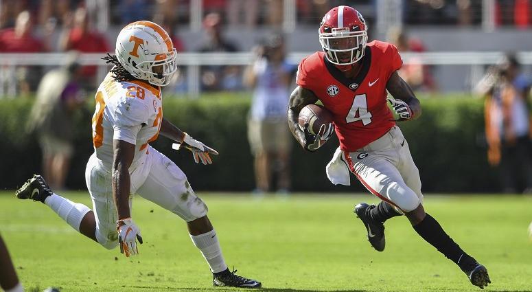 Georgia Bulldogs wide receiver Mecole Hardman