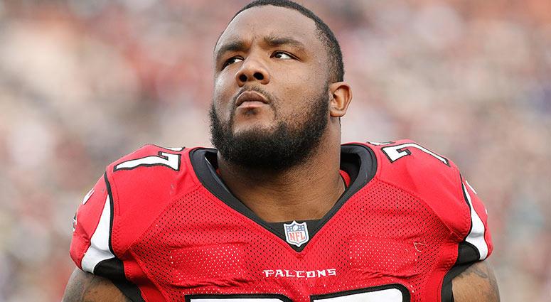 Ra'Shede Hageman of the Atlanta Falcons