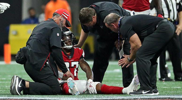 Atlanta Falcons safety Ricardo Allen