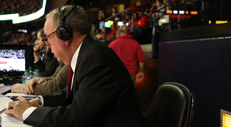 Voice of the Atlanta Hawks Steve Holman
