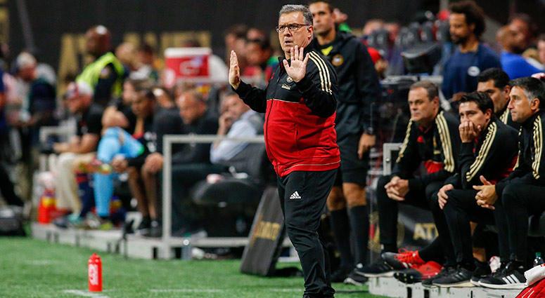 "Atlanta United head coach Gerardo ""Tata"" Martino"