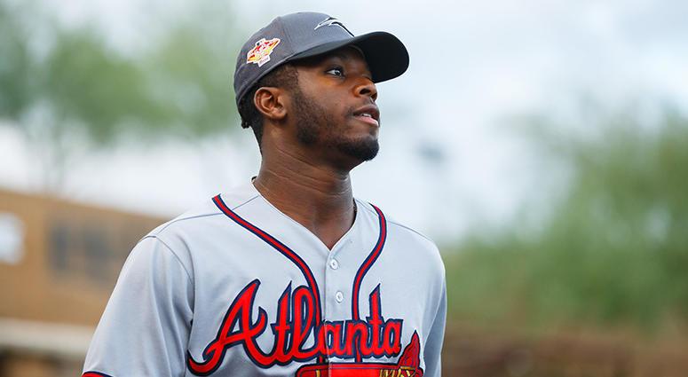 Atlanta Braves pitcher Touki Toussaint