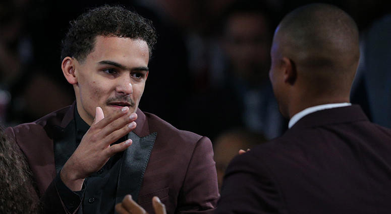 Atlanta Hawks draft pick Trae Young