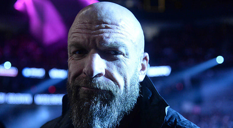Triple H, the COO of WWE