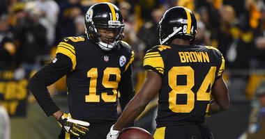 Antonio Brown, JuJu Smith-Shuster