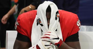 Georgia Bulldogs defensive lineman Devonte Wyatt