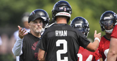 Falcons players prefer being counted out nationally