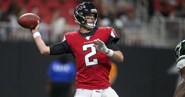 Falcons OL allowing sacks at alarming rate