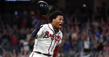 Atlanta Braves Outfielder Ronald Acuna Jr.