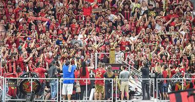 Atlanta United at Mercedes-Benz Stadium