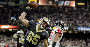 New Orleans Saints tight end Dan Arnold