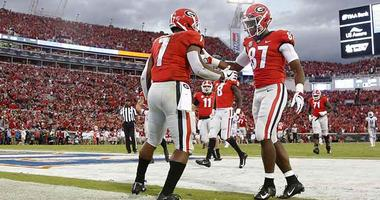 Georgia Bulldogs running back D'Andre Swift