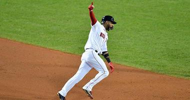 Boston Red Sox pinch hitter Eduardo Nunez
