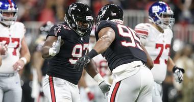 Atlanta Falcons defensive tackle Grady Jarrett