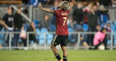 Atlanta United forward Josef Martinez