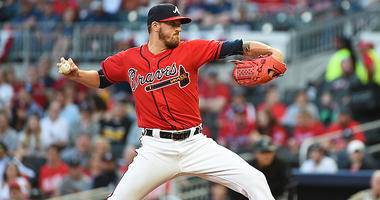 Kevin Gausman of the Atlanta Braves