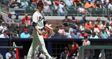 Atlanta Braves starting pitcher Michael Soroka