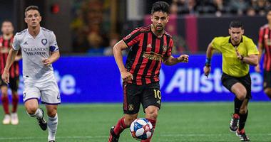 Atlanta United midfielder Gonzalo Pity Martinez