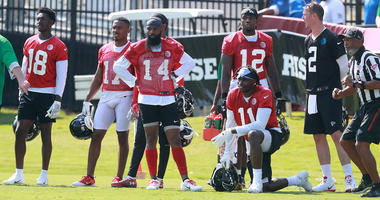 Sanu: 'Without a doubt' Falcons have NFL's best WR trio