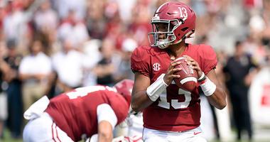 Alabama Crimson Tide quarterback Tua Tagovailoa