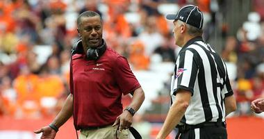 Florida State Seminoles head coach Willie Taggart