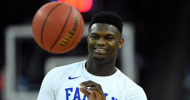 Duke Blue Devils forward Zion Williamson