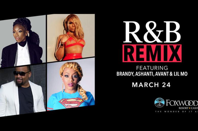 R&B Remix Tour starring Brandy, Ashanti, Avant & Lil Mo