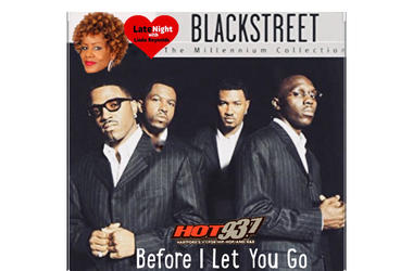 Blackstreet 1st on Late Night Love