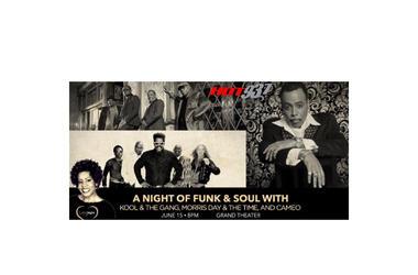 Funk & Soul Foxwoods tix 11:30p