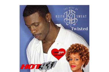 Keith Sweat 1st #LNL