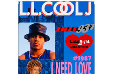 LL Cool J triple play beginning Late Night Love