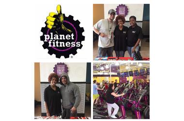 Linda Reynolds at Planet Fitness Newington, CT