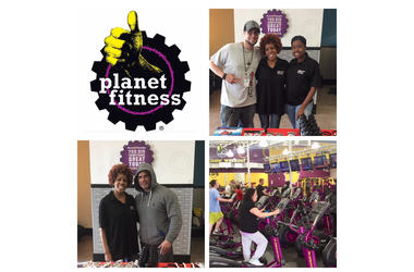 Linda Reynolds at Planet Fitness Newington, CT